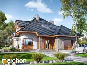 Projekt domu ARCHON+ Dom medzi sansevieriami