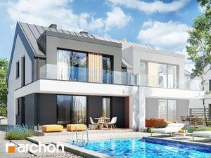 Projekt domu ARCHON+ Dom medzi macoškami 7 (R2B)
