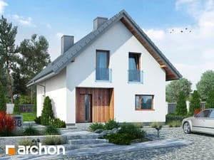 Projekt domu ARCHON+ Dom pod hrabom 2