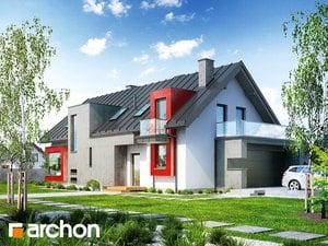 Projekt domu ARCHON+ Dom v karí