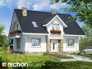 Projekt domu ARCHON+ Dom v lucerne (P) ver.2