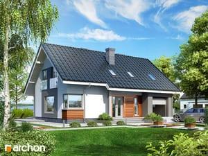 Projekt domu ARCHON+ Dom v krivci ver.2