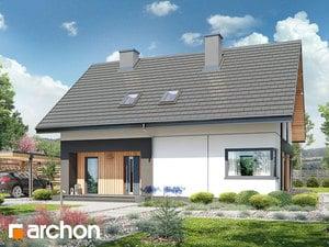 Projekt domu ARCHON+ Dom v malinčí  7