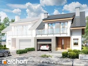 Projekt domu ARCHON+ Dom v plamienkoch 23 (B)