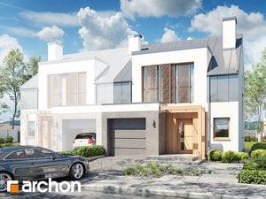 Projekt domu ARCHON+ Dom v plamienkoch 20 (BN) ver.2
